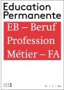 la formation d'adultes comme profession – « EB : Beruf – Profession – Métier FA »